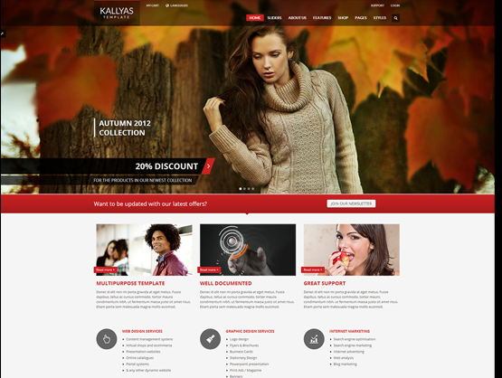 Kallyas WordPress theme