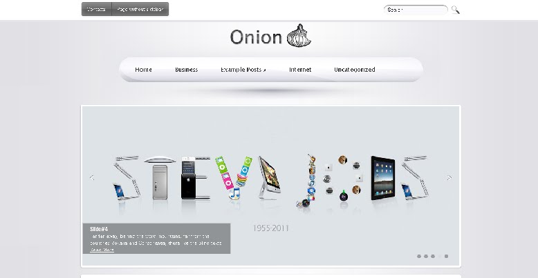 Onion WordPress Theme