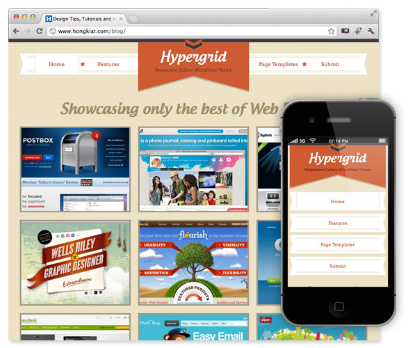 Hypergrid WordPress Theme