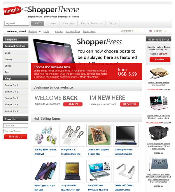 Shopperpress Theme